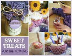 Sweet cowgirl birthday party