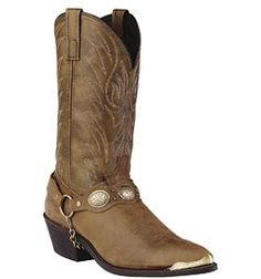 6771 Laredo Men's Distressed Classic Western Boots - Brown