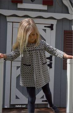 vestido-blanco-y-negro-115-de-ancar-moda-infantil-invierno-2015-2016-catálogo