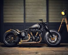 Harley Softail Slim by Rough Crafts (via Bike Exif)