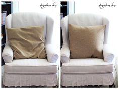 Create your own pillow form - bring those old pillows back to life