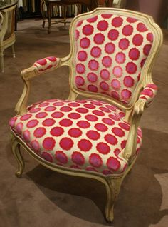 fauteuil louis xv peint - Recherche Google