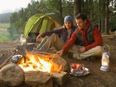 Camping for two - romantic weekend idea's