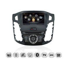 Ford-Focus-Autoradio-DVD-GPS-Navigationssystem-Einbau-Navi-GPS-iGo-Primo