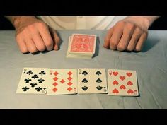 The easiest and most impressive 'deck of cards' magic trick. It fooled Winston Churchill. How To Do Magic, Learn Magic Tricks, Magic Tricks Revealed, Magic Card Tricks, Cool Magic Tricks, Easy Magic, Winston Churchill, Magic Johnson Son, Easy Card Tricks