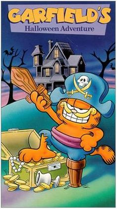 It's Tradition To Watch Garfield's Halloween Adventure With My Girls After I Take Them Trick~Or~Treating <3