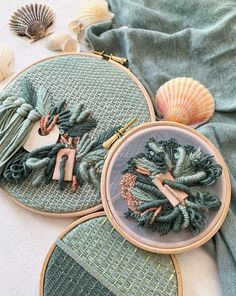 My Three-Dimensional Embroideries Inspired By Oceanic And Botanical Forms - Embroidery inspiration - Abstract Embroidery, Hand Embroidery Patterns, Embroidery Art, Embroidery Designs, Home Sew, Contemporary Embroidery, Textile Fiber Art, Couture, Textiles