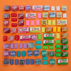 just-a-boring-url: emilyblincoe: chiclets tulum, mexico march 2014 ☄☽ ☆ Tulum Mexico, Satisfying Pictures, Oddly Satisfying, Satisfying Things, Foto Still, Things Organized Neatly, Object Photography, Colour Photography, Food Photography