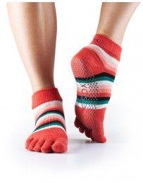 Full Toe Ankle Grip Socks