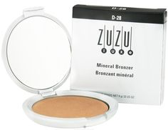 Zuzu Luxe - Mineral Bronzer D-28 - 0.32 oz. -- This is an Amazon Affiliate link. Want to know more, click on the image.