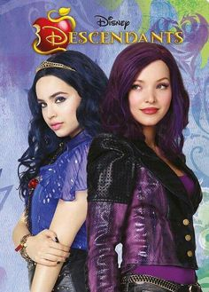 Mal and Evie in descendants