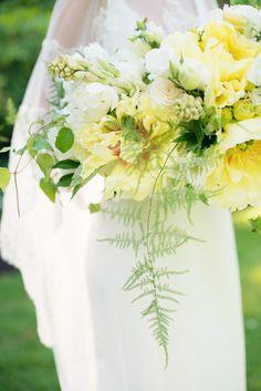 Big Beautiful #Bouquet | #Yellow | Photo: MelissaGidneyPhoto.com | Bouquet by CelsiaFlorist.com