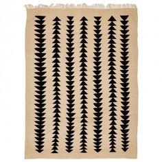Moroccan Flat Weave Wool Rug - 9 6 x12 10
