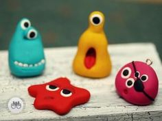 polymer clay monsters