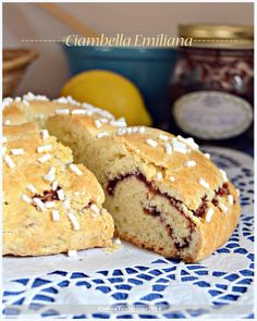Ciambella Emiliana Baking And Pastry, Sweet Cakes, Pain, Biscotti, I Love Food, Street Food, Italian Recipes, Food To Make, Sweet Tooth