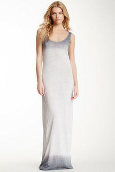 Ombre Linen Maxi Dress by Three Dots on @HauteLook