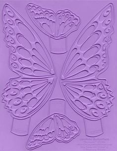 Food Grade Silicone Butterfly Mold - Chicago School of Mold Making - Jasmine Butterflies Showpeels - ST002 - For Professionals