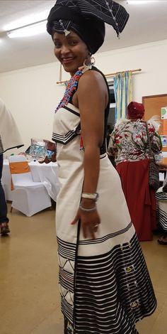 Xhosa Attire, African Attire, African Wear, African Style, African Beauty, African Fashion, African Maxi Dresses, Shweshwe Dresses, African Wedding Dress