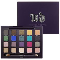 "20 new Urban Decay shades, created exclusively for this collection. The name ""Vice"" couldn't be more fitting. The Vice Palette - $59 #Sephora #Gifts #GiftIdeas"