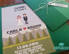 #casamento geek #casamento nerd #nerd #geek #casamento #Love #star wars #vídeo game #wedding #convite