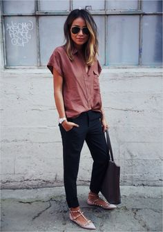 45 Beautiful Work Outfit Ideas for Women In Flats 24 Ever forever sincerely Jules 7