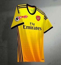 87499f596b3 2019-20 Cheap Jersey Arsenal Yellow Replica Soccer Shirt  DFC152
