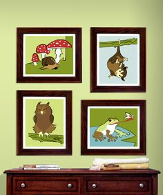 Cute Woodland prints