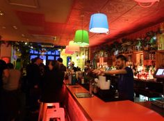 Bario East Brazilian themed bar in Shoreditch East London