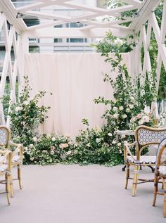 Wedding Ceremony Flowers, Wedding Ceremony Decorations, Ceremony Backdrop, Wedding Centerpieces, Floral Wedding, Wedding Bouquets, Church Decorations, Wedding Arches, Tall Centerpiece