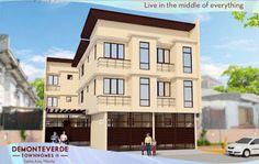 Elegant Metro Manila Properties: DEMONTEVERDE TOWNHOMES II Quality Homes for Filipi... Manila, Filipino, Townhouse, The Unit, Mansions, Elegant, House Styles, Homes, Home Decor