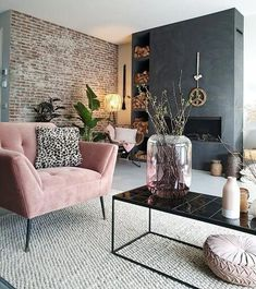 Het voorjaar in huis met de kleur roze – – Wohnaccessoires Spring at home with the color pink … Home Living Room, Interior Design Living Room, Living Room Designs, Living Room Ideas, Interior Decorating Tips, Interior Ideas, Decorating Ideas, Inspire Me Home Decor, Diy Home Decor