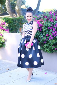 KTR Connect The Dots Midi Skirt (Size 24) - KTRcollection