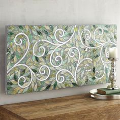 Luxuriate in our swirling glass mosaic panel, with its handcrafted attention to detail and deep, opalescent hues. No matter your style, this…