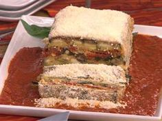 Healthy Italian: Serve up vegetable napoleon Looked so yummy! Healthy Dishes, Veggie Dishes, Tasty Dishes, Food Dishes, Main Dishes, Healthy Foods, Side Dishes, Healthy Italian Recipes, Vegetarian Recipes
