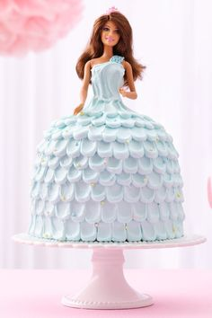 Delight your princess with a magical cake that's made foolproof with an easy cake mix and purchased frosting!