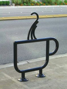 coffee bike rack on my wish list for in front of the coffee house. My Coffee Shop, Coffee Shop Design, I Love Coffee, Coffee Cafe, Cafe Design, Coffee Break, Starbucks Coffee, Coffee Girl, Hot Coffee