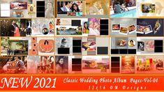NEW 2021 Classic Wedding Photo Album 12x36 DM Pages-Vol-04