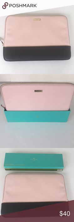 Kate Spade Glitter Laptop Sleeve A soft Rose Gold Glitter Laptop Sleeve for 13'Mac Book EUC carried only few times. No flaws it is Pristine. Your welcome to use offer button at any time . I welcome reasonable offers. Happy Poshing! kate spade Accessories Laptop Cases