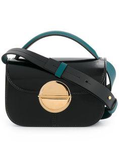 MARNI Tuk cross-body bag. #marni #bags #shoulder bags #hand bags #leather #