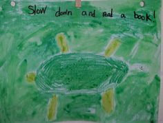 The Reading Room: The Turtle Says......