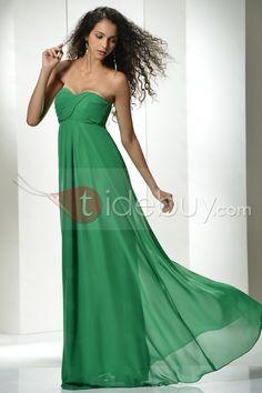Elegant A-line Sweetheart Empire Waistline Floor-Length Prom Dress : Tidebuy.com