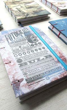 Libretas encuadernación artesanal