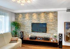 kamenná stěna obývak - Hledat Googlem
