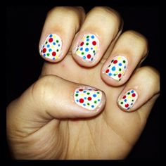Funfetti nails! :)