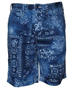 dc307c21e3f0 Polo Ralph Lauren Men s Printed Relaxed Fit 10  Chino Short