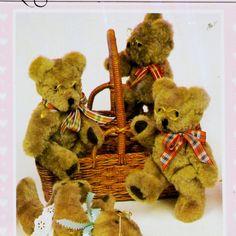 CRAFTS Uncut PATTERN53 1983 DAISY Kingdom 219 Teddy Bear Patty Bear 5-oz