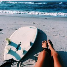 summer // surfing // surfers // surfboard // tan // ocean // waves