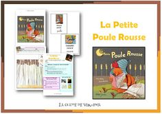 Dossier pédagogique la petite Poule Rousse Petite Section, Ms Gs, Literacy, Virginia, Kindergarten, Education, Short Stories, Nursery School, Hens And Chicks