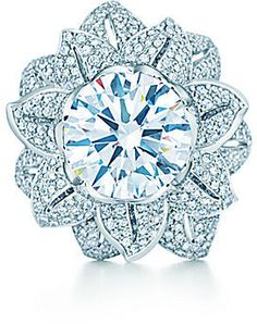 The Gatsby Collection:Diamond Flower Ring