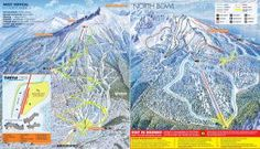 Revelstoke ski map